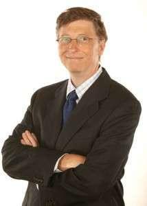 Портрет основателя Microsoft