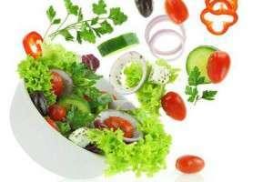 Правильное питание - основа здорового образа жизни (зелень и овощи)