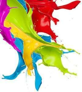Краски ярких цветов