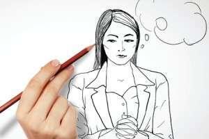 Автопортрет-рисунок карандашем
