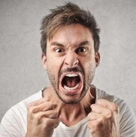 Проявление гнева, ярости